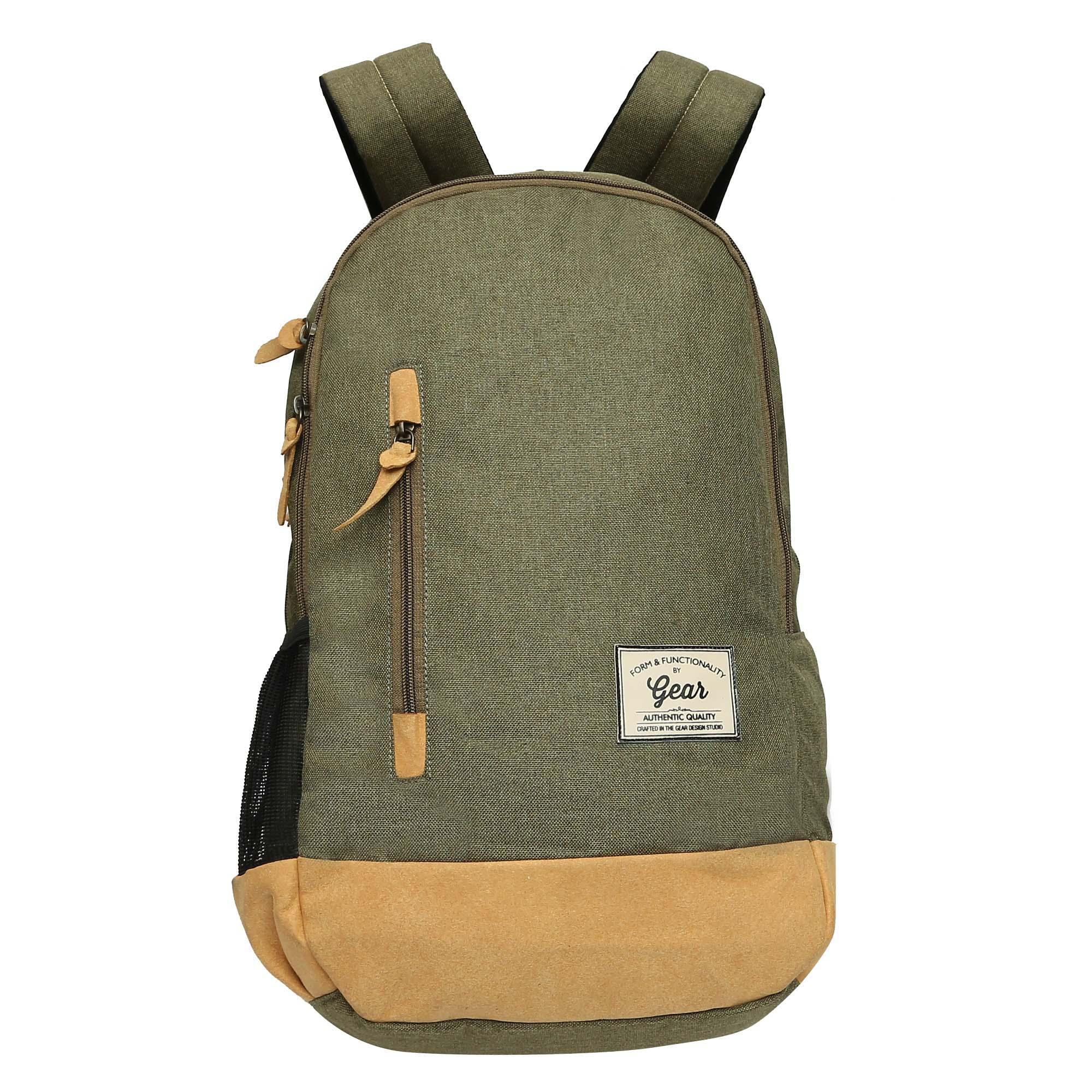 5b6829a91387 Gear Unisex Blue And Black Campus 9 Waterproof Backpack- Fenix ...